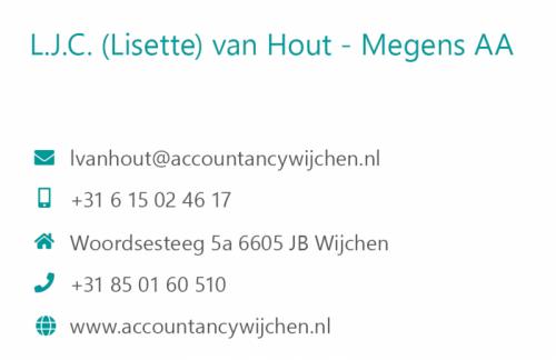 Huisstijl Accountancy Wijchen