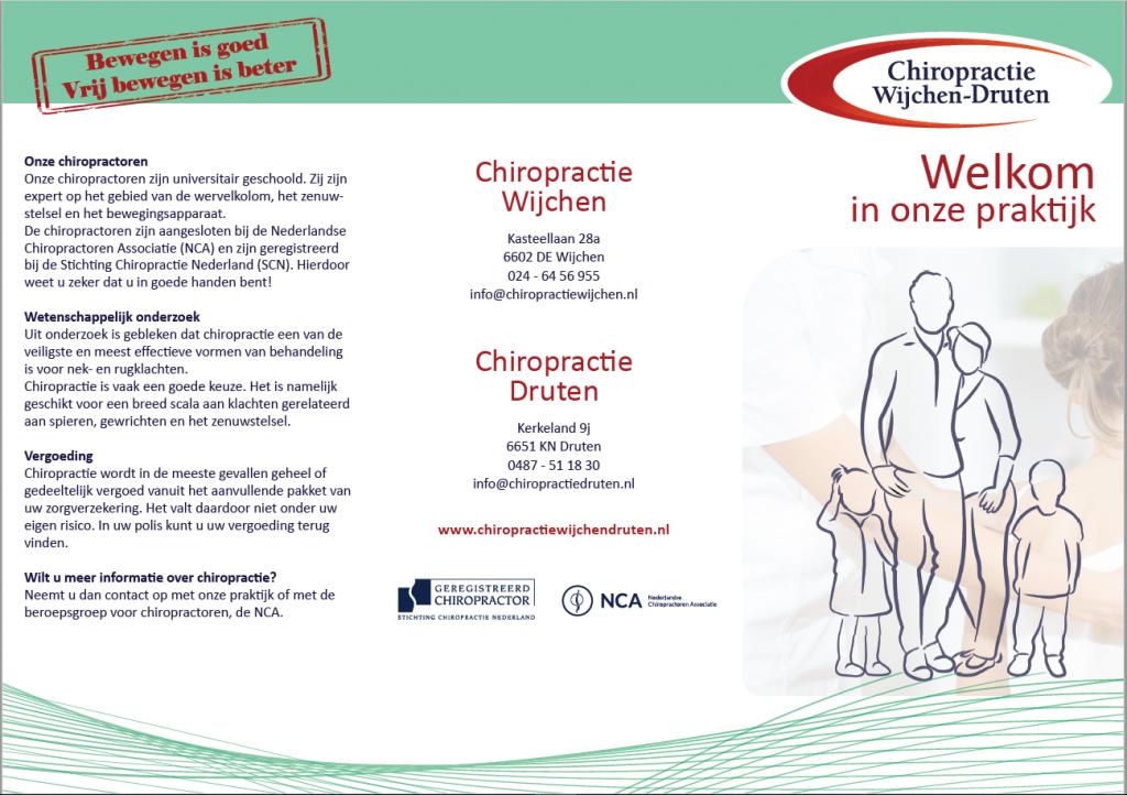 Drukwerk Chiropractie Wijchen-Druten