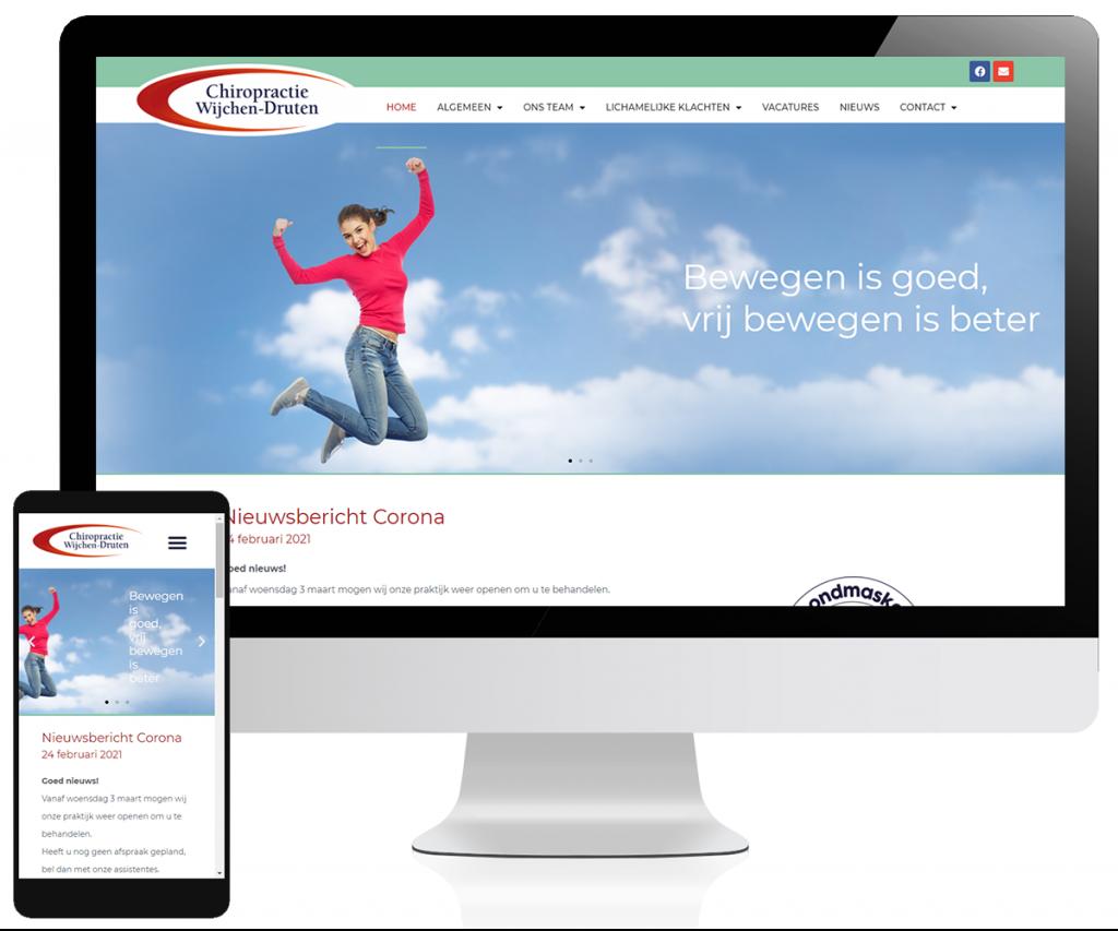 Website Chiropractie Wijchen Druten