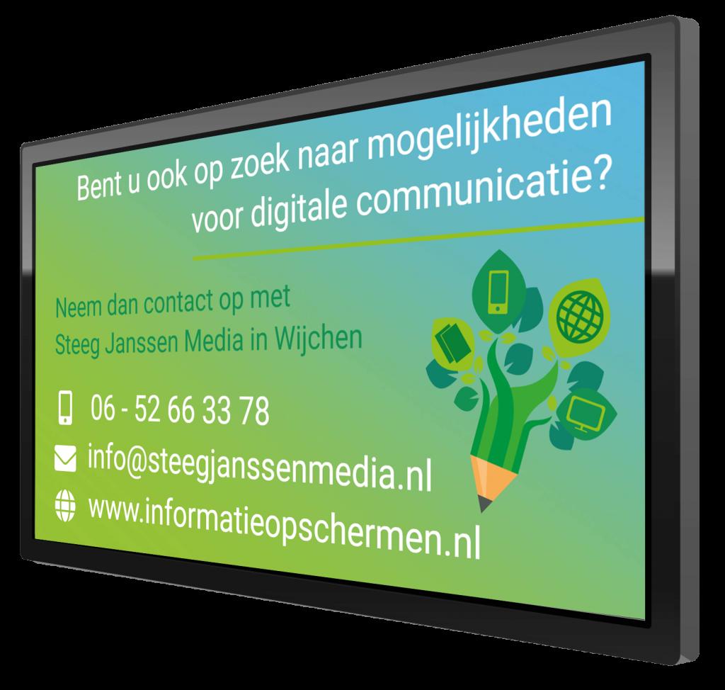 Communiceren via een scherm
