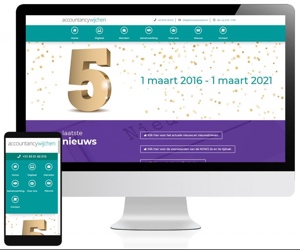 Website Accountancy Wijchen